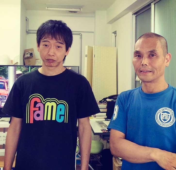 山田さん(左)とNETWORK初代店主の鏡味氏